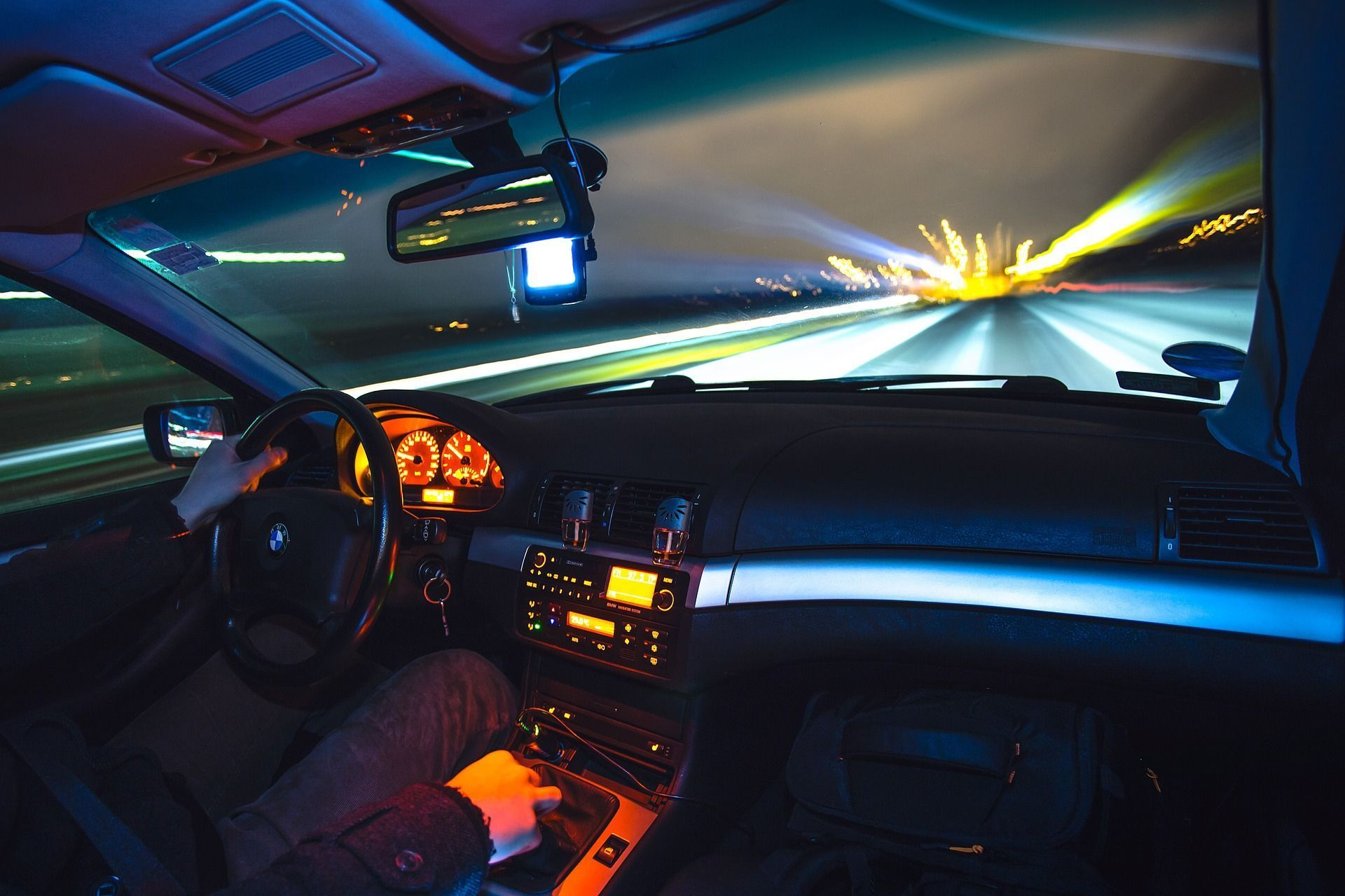 Lentes para conducción nocturna